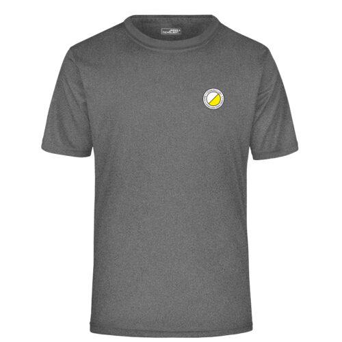 Team T-Shirt Grau TCL Weiß-Gelb Herren